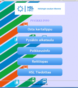Mobileapplication HSL